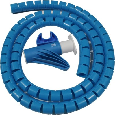 MX 1 Compartments Plastic Cable Cover(Blue)