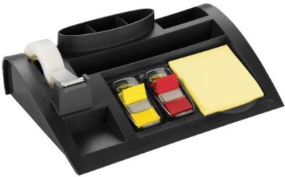 3M Office Products 1 Compartments Plastic Desktop Organizer