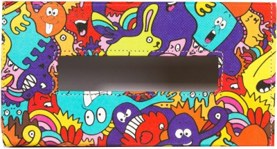 Thecrazyme Monster Colorful 1 Compartments Eco-Friendly leatherette Tissue Box Holder