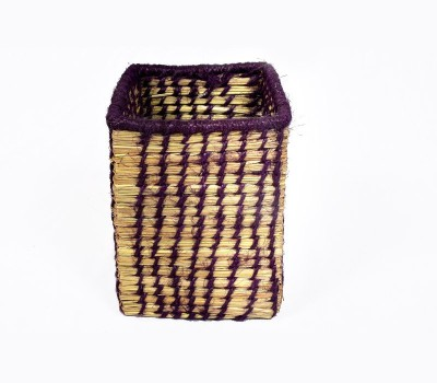 MayurShilpa 1 Compartments Sabai Grass, Thread Pen Stand