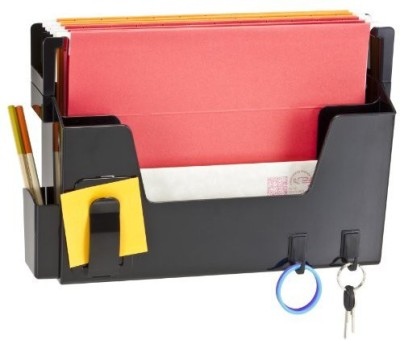 Officemate International 2 Compartments Plastic Wall File Organizer