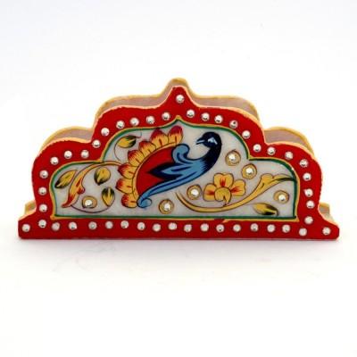 Jaipur Raga 1 Compartments Marble Napkin Holder