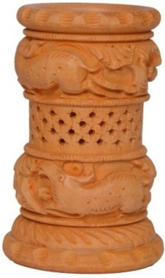 Bajya Meshed 1 Compartments Wooden Pen Stand