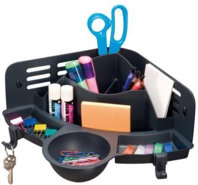 Officemate International 7 Compartments Plastic Corner Organizer