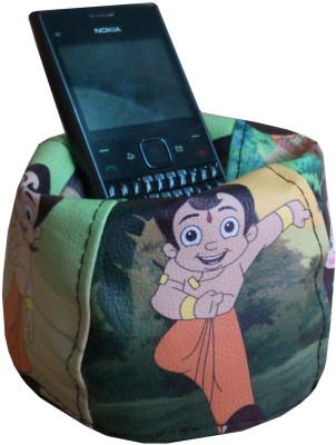 Fun On Chhota Bheem 1 Compartments Artificial Leather Mobile Holder