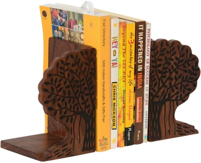 ExclusiveLane EL-007-012 1 Compartments Wood Book Holder