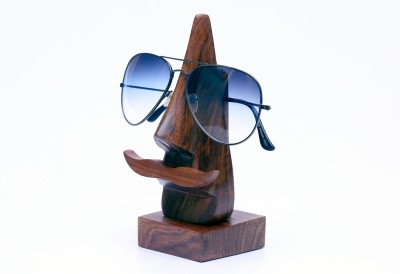 Woodenclave 1 Compartments Wooden Sunglass Holder