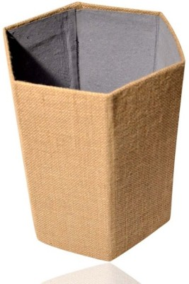 Indha Craft IC 100% Eco Friendly 1 Compartments Card Board, Jute Paper Bin
