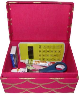 Needlecrest 1 Compartments Fabric Box