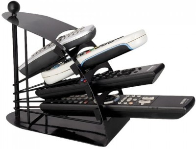 Power Plus Remote Stand 4 Compartments Metallic body Remote Companion(Multi Remote Stand)