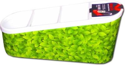 Shopo 4 Compartments Plastic Remote holder