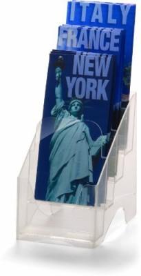 Officemate International 1 Compartments Plastic Leaflet Holder