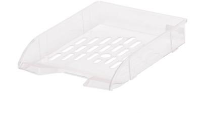 Chrome 1 Compartments Plastic Document Holder