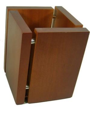 Essart T-24 1 Compartments Wooden Pen Holder