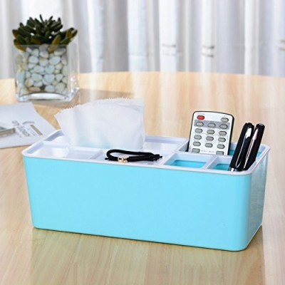 Inventure Retail 4 Compartments PLASTIC TISSUE BOX-1