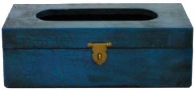 Artlivo Popart 1 Compartments Wood Tissue Paper Holder