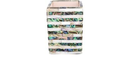 Opulent Homes 1 Compartments Plastic Pen Stand