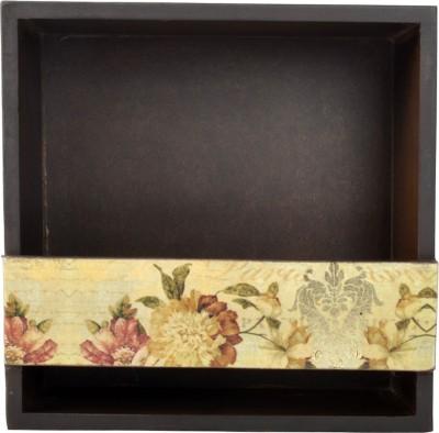 Tisoro Tukins 2 1 Compartments Wooden Napkin Holder