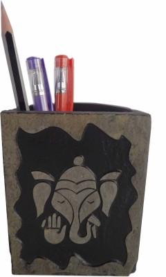 Niksang Arts 1 Compartments Natural Stone Penstand