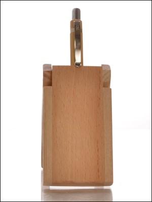 RajLaxmi 3 Compartments Wooden Pen Stand