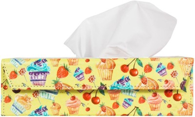 The Crazy Me 1 Compartments Eco Friendly Lethratte Tissue Holder