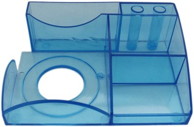 Tootpado 4 Compartments Acrylic Pen Stand