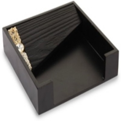 Cocktail Mesh 1 Compartments Wooden Napkin Tray