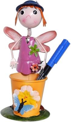 Super Drool Pretty Girl 1 Compartments Tin Pen Stand