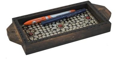 eCraftIndia ESR008 1 Compartments Wooden Utility Tray