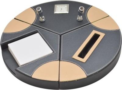 Knott 0 Compartments Leather Desk Organiser