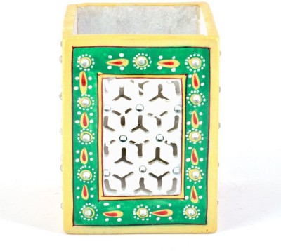 Shilpbazaar 1 Compartments Marble Pen Stand