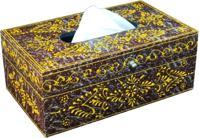 Shreeng 1 Compartments Wooden Tissue Paper Holder