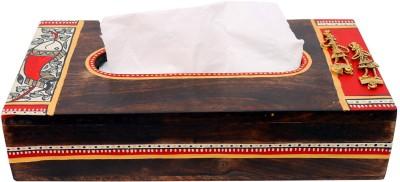 Indikala 1 Compartments Wooden Tissue Box
