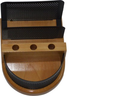 Knott BLU/SH-743 2 Compartments Wood Slip Holder