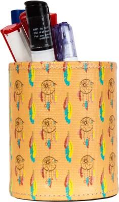 Thecrazyme Dreamcatcher 1 Compartments Eco-Friendly leatherette Pen Stand