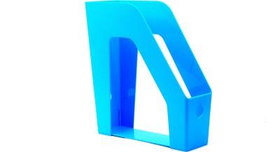 Chrome Multipurpose Trays 1 Compartments Plastic File Rack