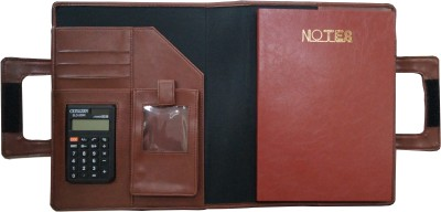 Tiara Diaries 4 Compartments FOX LEATHER DISPLAY BOOK