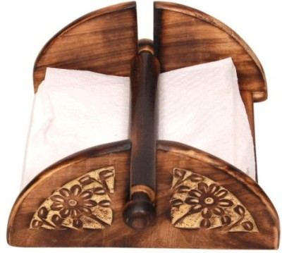 Onlineshoppee 1 Compartments Wooden Tissue Holder
