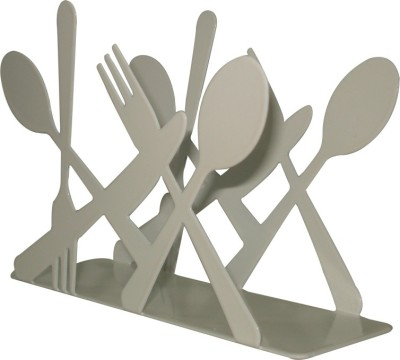 SSD Spoon-N-Fork 1 Compartments Iron Tissue Stand