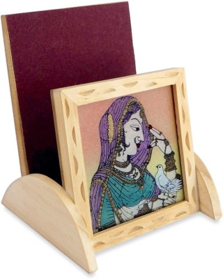 R S Jewels Cases 1 Compartments Wooden Mobile Stand