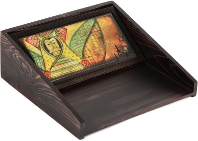 Betelleaf 1 Compartments Wooden Tissue box