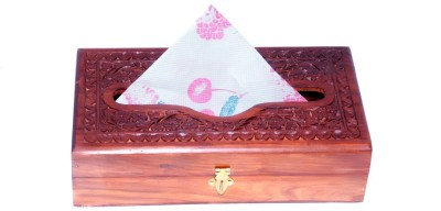 Univocean 1 Compartments Wooden Tissues Paper Holder