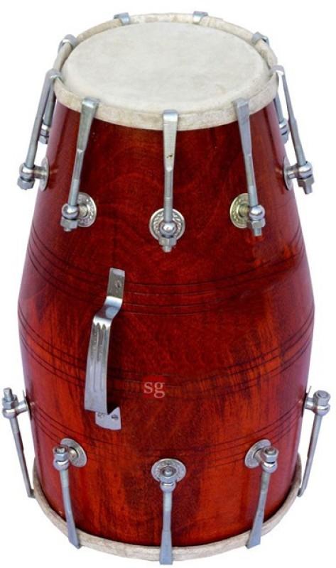 SG Musical Nut-Bolt Dholak(Multicolor)