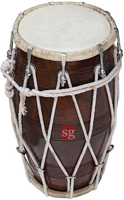 SG Musical Mango Wood Dholak1
