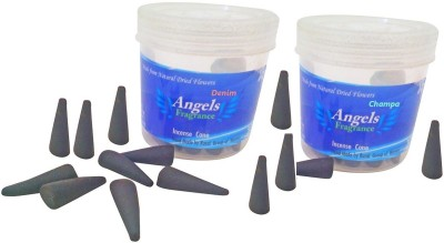 ANGELS FRAGRANCE CHAMPA, DENIM Dhoop Cone