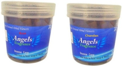 Angels Fragrance Rose, Chandan Dhoop Cone