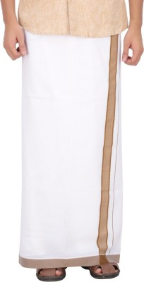 Anytime Solid Men's Dhoti