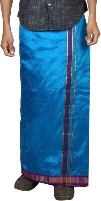 Sethukrishna Pure Silk 5 Kan Set Solid Men's Dhoti