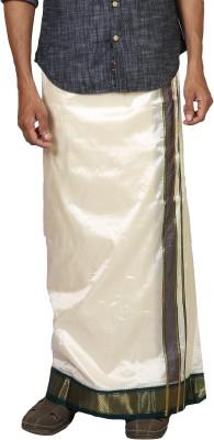 Sethukrishna Pure Silk 11 Kan Set Solid Men's Dhoti