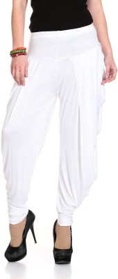 Wellfitlook Solid Viscose Women's Harem Pants